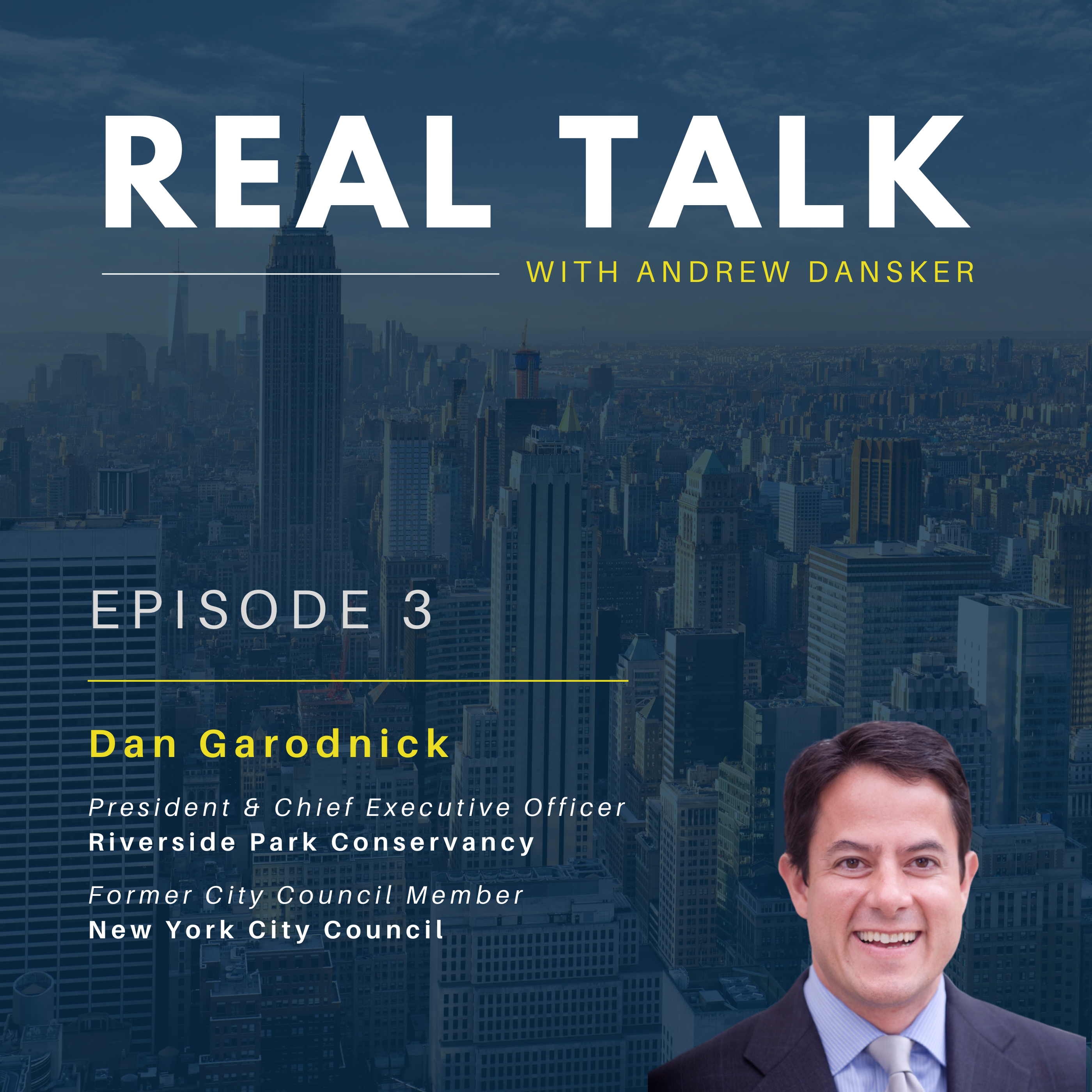 Cover Art Dan Garodnick - Podcast
