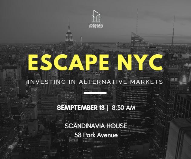 escapenyc flyer - September 13, 2018 Escape NYC